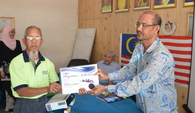 Congratulations Pak Uda and team for successfully completing the Basic Life Support Course