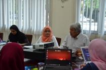 Dr Wan Raihana and Prof Wan Asim
