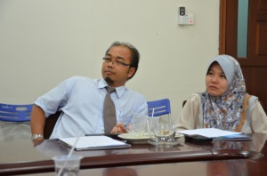 Dr Andrean and Dr Rosfaiizah