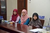 Fatin, Wani and Nasihah from UiTM