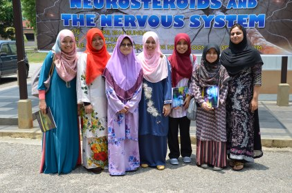 The graduate students of BRAINetwork and UiTM